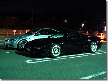 Puti-Off NSX and M3 Coupe