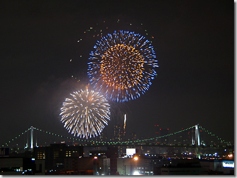 Tokyo Bay Great Fireworks