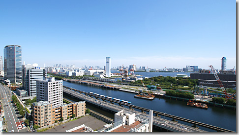 Shinagawa Canal Side
