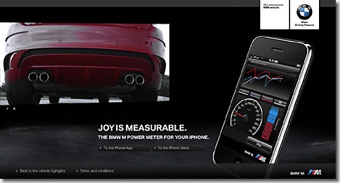 M Power Meter for iPhone