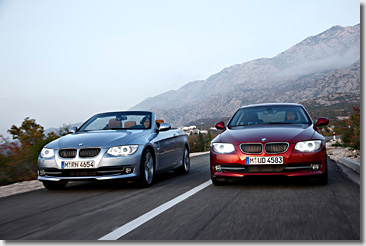 BMW 3 Series Coupe and Convertible Facelift (LCI)