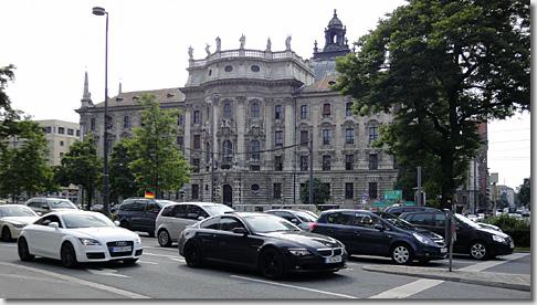 Munich Justizpalast