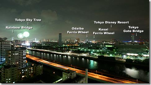 東京湾大華火祭2013