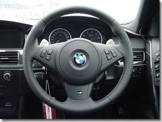 BMW M5 Paddle Shift Steering Wheel