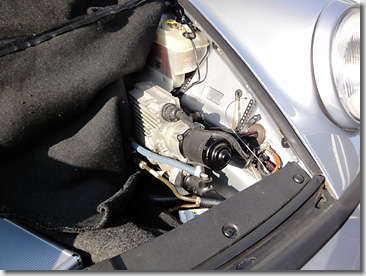 Old Porsche Doppel Kupplung