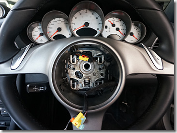 Porsche PDK Paddle Shift Steering Wheel