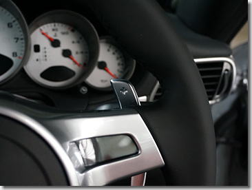 Porsche PDK Paddle Shift