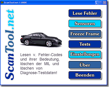 CAN Scanner for Porsche