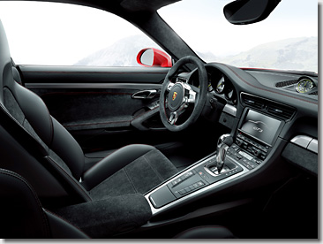 Porsche 997 PDK Paddle Shift