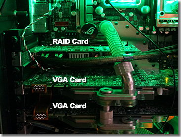 Water Cooling for RAID Card