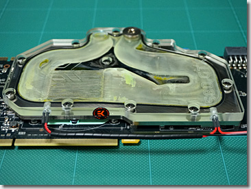 Water Cooling Asus ENGTX580/2DI/1536MD5