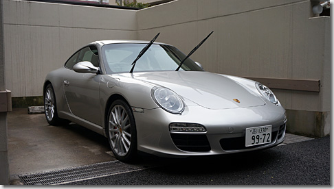 Car Washing - Porsche 911 Carrera S