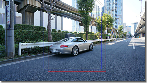OpenCV, Phase Only Correlation, Porsche 911 Carrera S