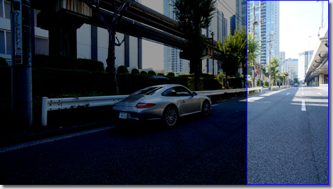 OpenCV, Phase Only Correlation, Porsche 911 Carrera S, Left Side