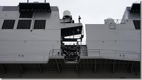 ヘリ搭載護衛艦「いずも」 洋上給油用設備