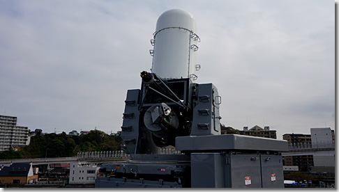ヘリ搭載護衛艦「いずも」 近接防御火器システム CIWS