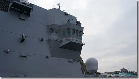 ヘリ搭載護衛艦「いずも」 艦橋