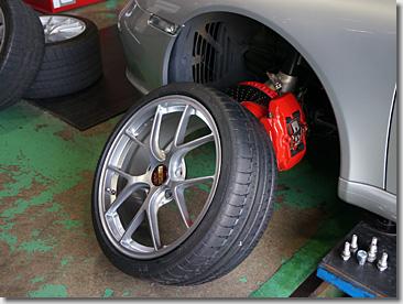 Porsche 911, BBS Wheel RI-D
