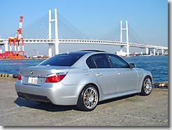 BMW 530i E60, Carbon Roof