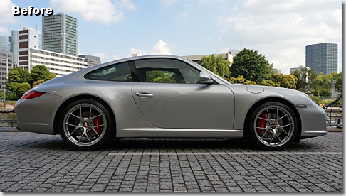 Porsche 997, H&R Low Down Spring