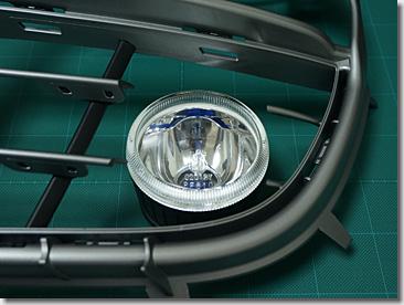Porsche 911 Type 997, Front Grill, HID Fog Lamp, DIY