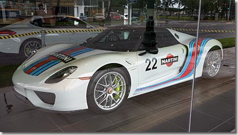 Porsche of Hawaii, Porsche 918 Spyder Martini Livery