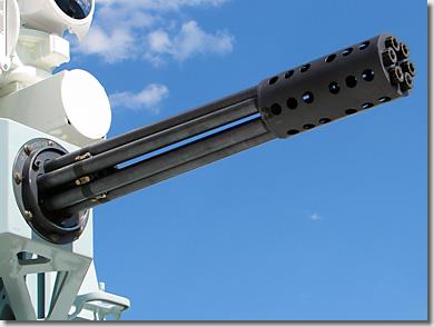 Phalanx CIWS M61A1 Vulcan