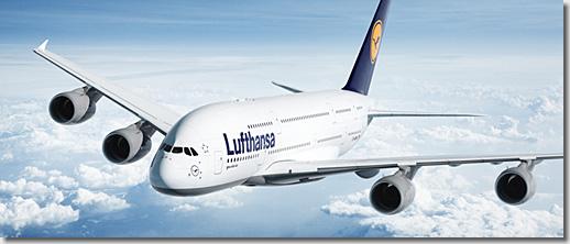 Deutsche Lufthansa AG, Airbus A380-800