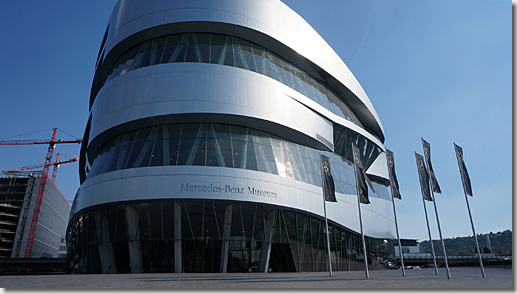 Stuttgart, Mercedes-Benz Museum