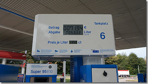 Nürburgring, Gas Station