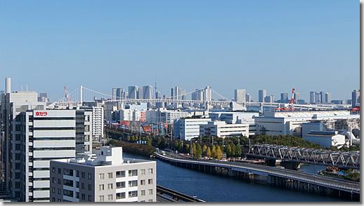Tokyo Bay, Shinagawa