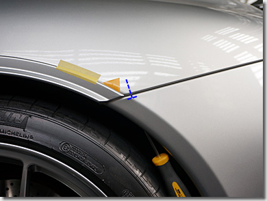 Porsche 911, Wheel Arch Extension