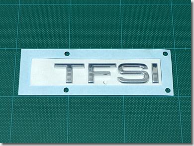 Audi Emblem TFSI Chrome 8X0853737A2ZZ