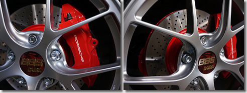 Red Caliper Paint, Porsche 911 Carrera S