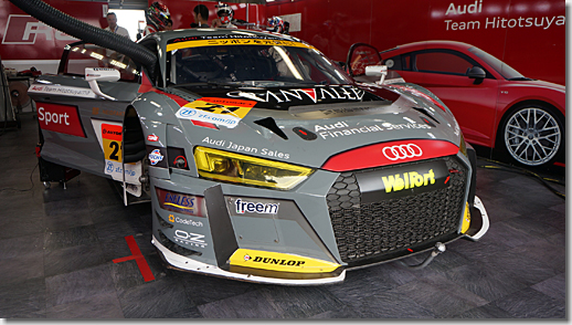 Audi Team Hitotsuyama, Audi R8 LMS 2018 Model