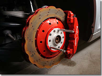 Audi R8 Wide Spacer Front, BBS RI-D 20inch