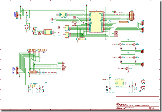 Drive Recorder, Security Circuit, PIC18F46K22-I/P DIP-40