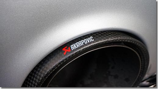 Audi R8 Akrapovic Slip-On Line Titanium Exhaust System