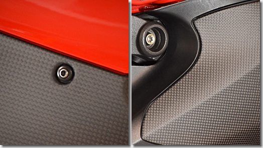 FULLSIX Carbon Side cowl, Ducati 1199 Panigale S
