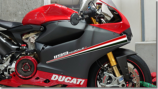 Ducati 1199 Panigale S Side Deco Line
