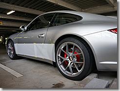 Porsche 911 Carrera S Side Deco Line