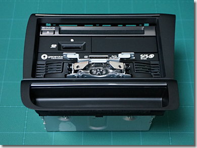 Audi R8, Car Navigation System, Panasonic CN-F1X10BD