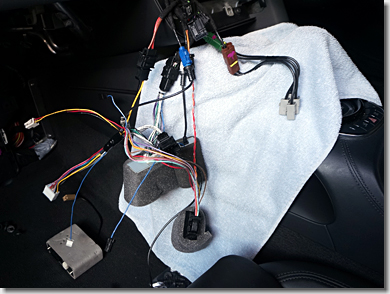 Audi R8, How to Remove Car Navigation System