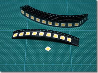 5060 SMD 3chip White LED