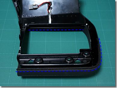 Audi R8, Center dash panel ventilation mounting frame