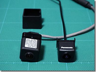 Audi R8, Genuine Rear View Camera and Panasonic CY-RC100KD