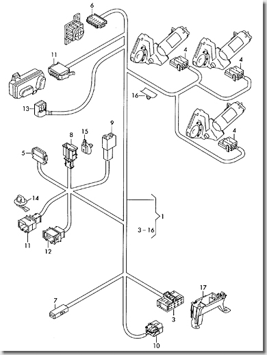 Connector Housing Audi R8