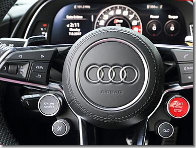 Audi TT RS Sound Button
