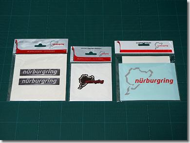 Nurburgring Sticker Tuning for Audi R8