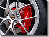 Audi R8 Red Caliper Painting